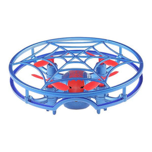 Jjrc H64 Spiderman G-Sensor Control Voice Prompt Hold Mode Rc Drone Quadcopter (Blue)
