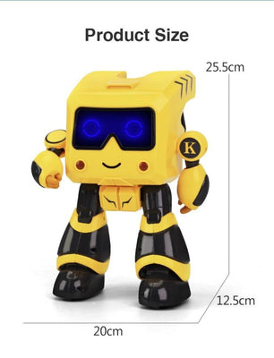 Jjrc R17 Kaqi-Toto Intelligent Programmable Touch Control Coin Saving Sing Dance Smart Rc Robot
