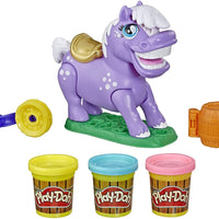 Play-Doh Animal Crew Naybelle Show Pony Farm Playset