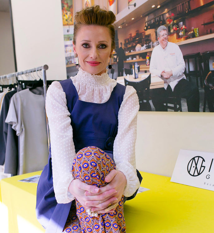 INGA GOODMAN. Meet the designer behind the brand.