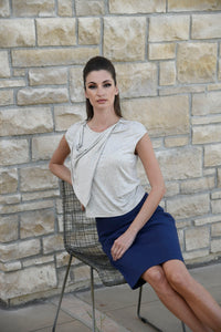 SHERRY Summer Top with Loose Collar