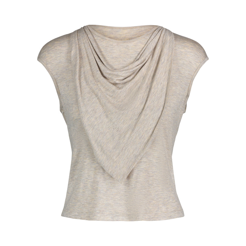 SHERRY Top with Loose Collar