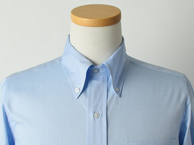 Unlined button-down collar