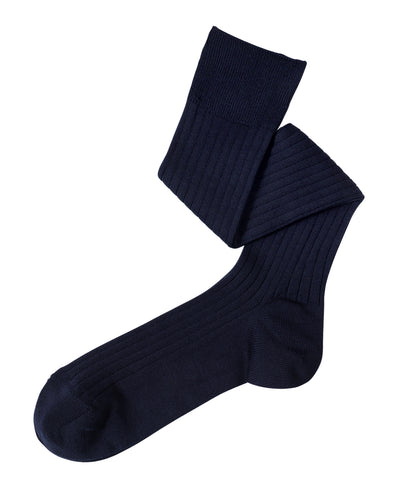Navy dress socks