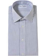 Load image into Gallery viewer, Navy stripe cotton shirt