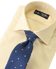 Load image into Gallery viewer, Yellow cotton shirt with tie