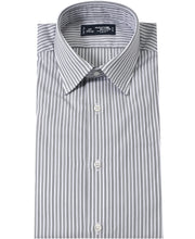 Load image into Gallery viewer, Gray stripe cotton shirt