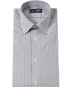Gray stripe cotton shirt