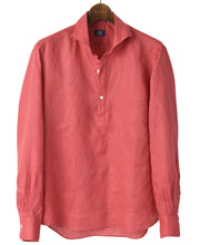 Load image into Gallery viewer, Red linen shirt