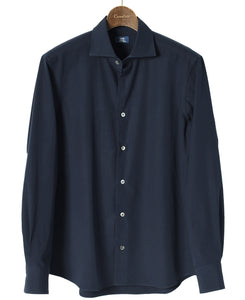 Navy cotton shirt