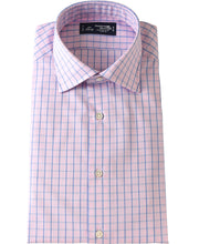 Load image into Gallery viewer, Pink check cotton shirt