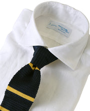 Load image into Gallery viewer, White linen shirt with tie