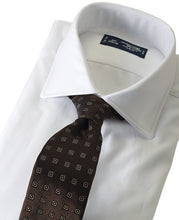 Load image into Gallery viewer, White cotton shirt with tie