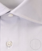 Load image into Gallery viewer, Close up of gray cotton shirt