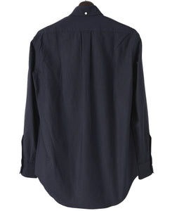 Navy of blue cotton shirt