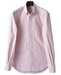 Red stripe cotton shirt