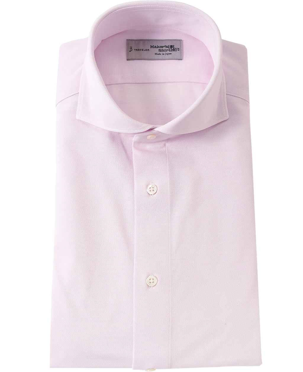 Pink cotton and polyester shirt