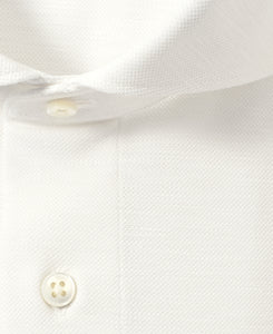 Close up of cotton and polyester shirt