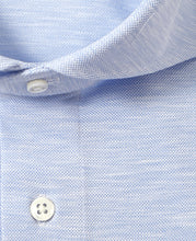 Load image into Gallery viewer, Blue cotton and polyester shirt