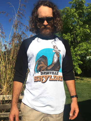 Dashville Skyline Raglan Tee