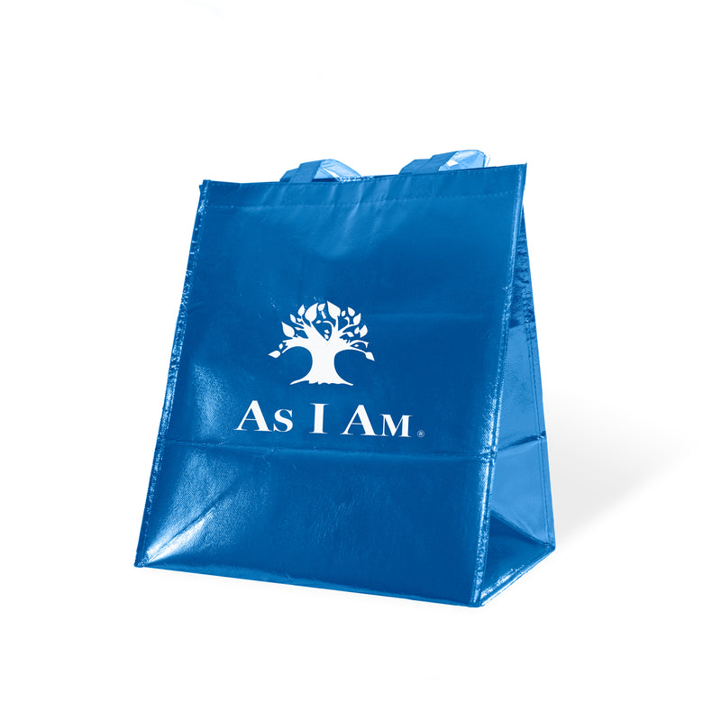 As I Am Blue Tote