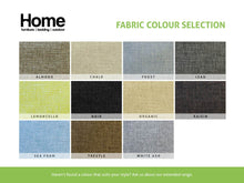 Fabric selection for Corner Lounge with Reversible Chaise