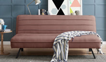 Pelle Sofa Bed in Velvet Finish