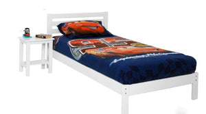 Junior Single Bed Frame in White