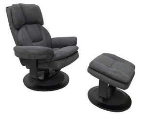 Clarkson Stressfree Relaxa Chair with Ottoman