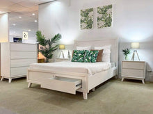 Timber Bedroom Suite Finished in a Coastal White
