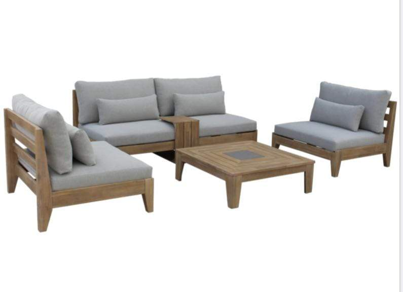 Cano 5 Piece Outdoor Lounge Suite