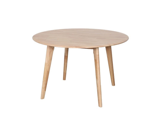 Belmont Round Oak Dining Table