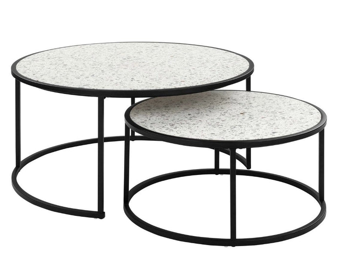 Venice Terrazzo Occasional Table Set