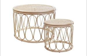 Kava Rattan Occasional Table set