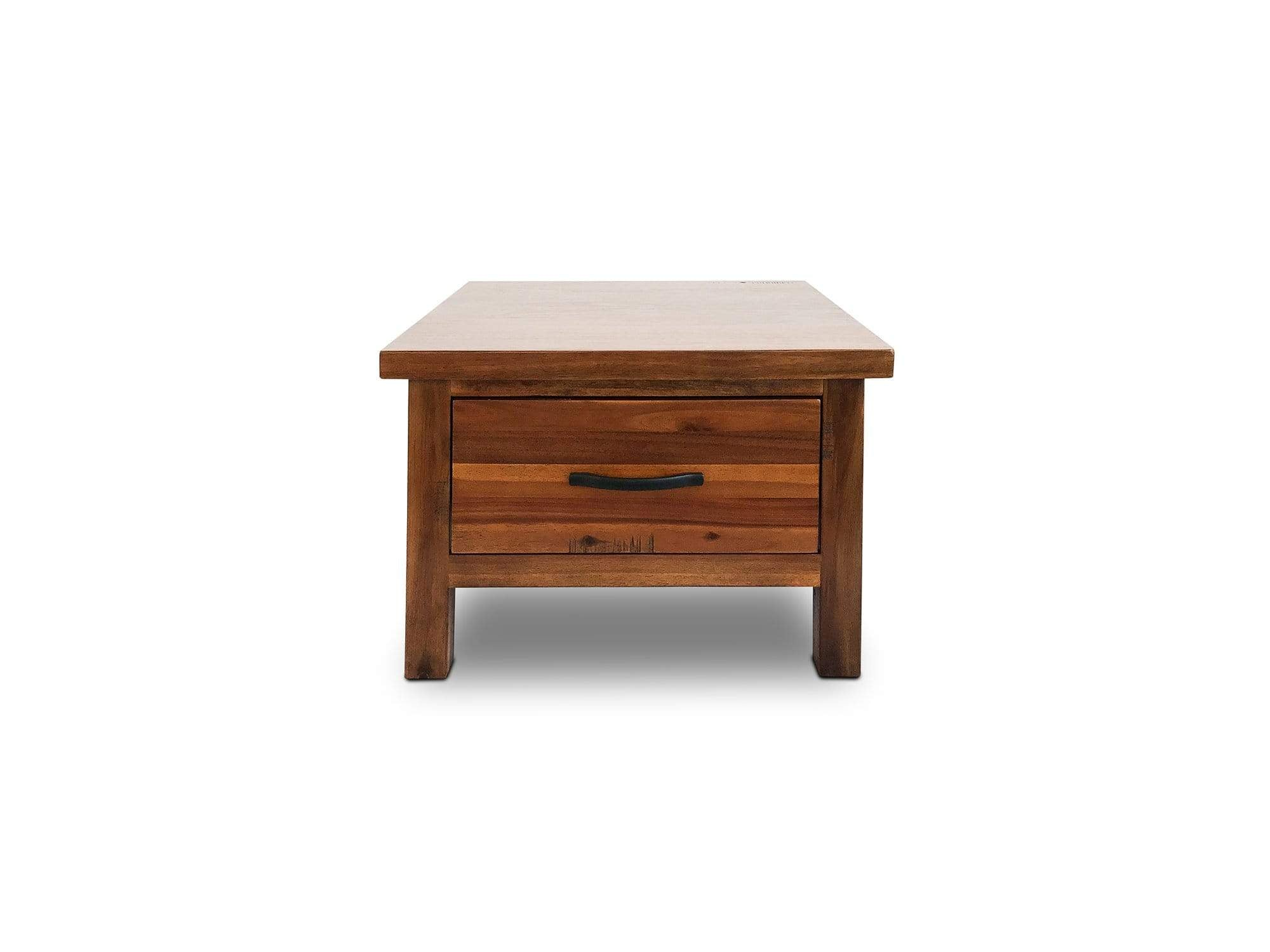 Peyton Timber Lamp Table with Drawer