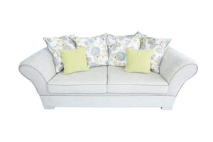 Picadilly Fabric Bespoke 3 Seater Sofa with Rolled Arms