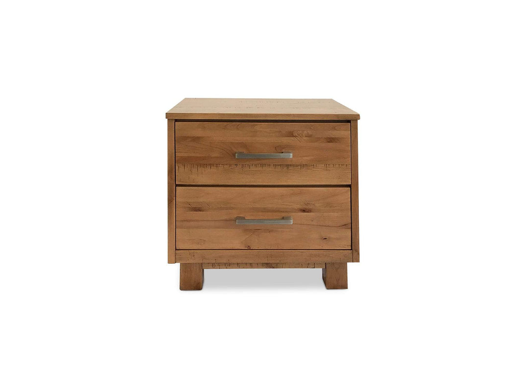 Timber Bedside Table Made From Solid American Oak