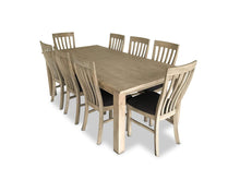 Driftwood 9 Piece Dining Suite with Recycled Timber