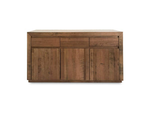 Huonville Tassie Oak buffet with 3 doors and 3 drawers