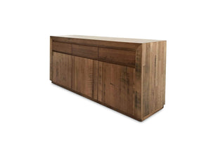 Tassie Oak buffet with 3 doors and 3 drawers