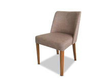 Fabric Dining Chair in Nutmeg and Oak