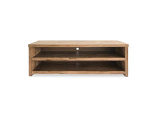 Parana Solid Mountain Ash TV unit with Open Shelves