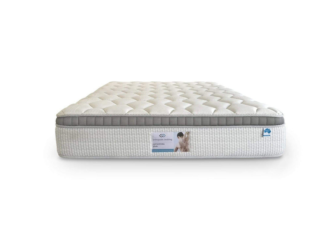 Orthoform Plush mattress with Gel Foam Top and 5 Zone Pocket Spring