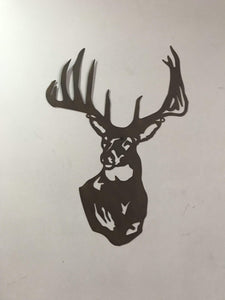 Metal Deer Decor