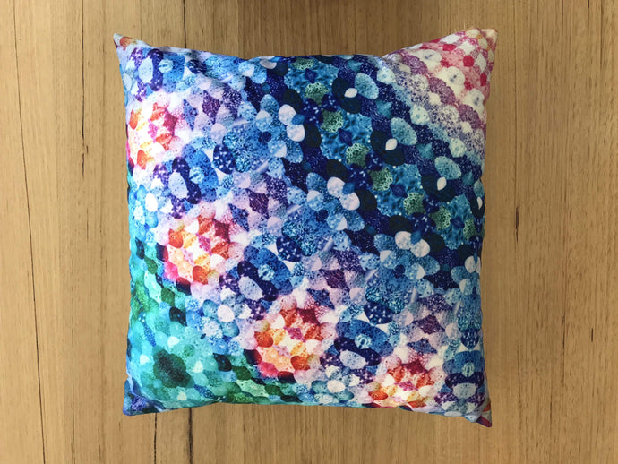 Kaleidoscope cushion