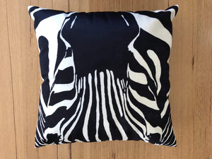 Zebra Face cushion