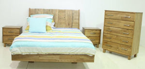 Zanda American Oak Floating Bedroom Suite