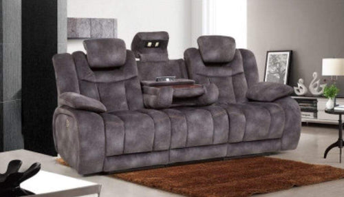 Nasa 3str Deluxe Theatre Recliner in Lux Suede