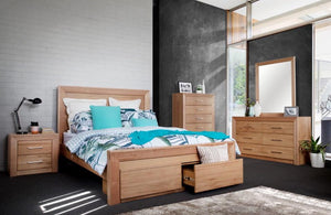 Laura Messmate Natural Bedroom Suite