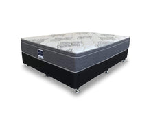 A.H Beard Active Queen Mattress and base with Medium Pocket Spring on angle shot